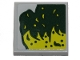 Part No: 11203pb043R  Name: Tile, Modified 2 x 2 Inverted with Lime Slime Pattern Model Right Side (Sticker) - Set 40336