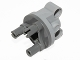 Part No: 11950c01  Name: Technic, Steering Axle with 2 Pin Holes with Dark Bluish Gray Wheel Hub (11950 / 92909)