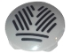 Part No: 2654pb016  Name: Plate, Round 2 x 2 with Rounded Bottom and Grille Pattern