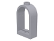 Part No: 30044  Name: Window 1 x 2 x 2 2/3 with Rounded Top