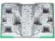Part No: 30271pb01  Name: Baseplate, Raised 32 x 48 x 6 with 4 Corner Pits with Dark Bluish Gray and Light Bluish Gray Rock Pattern