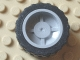 Part No: 30285c02  Name: Wheel 18mm D. x 14mm with Black Tire 24 x 14 Shallow Tread (30285 / 30648)
