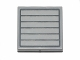 Part No: 3068bpb0822  Name: Tile 2 x 2 with Groove with Dark Bluish Gray Grille with 7 Bars Pattern (Sticker) - Set 75022