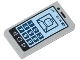 Part No: 3069bpb0304  Name: Tile 1 x 2 with Groove with Cell Phone with '81%' and Minifigure on Screen Pattern