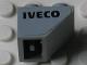 Part No: 3660pb014L  Name: Slope, Inverted 45 2 x 2 with Black 'IVECO' Pattern Model Left Side (Sticker) - Set 8654