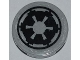 Part No: 4150pb091  Name: Tile, Round 2 x 2 with SW Imperial Logo Pattern (Sticker) - Set 7915