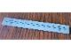 Part No: 4162pb220  Name: Tile 1 x 8 with SW Tie Striker Black Lines Pattern (Sticker) - Set 75154