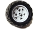 Part No: 41896c02  Name: Wheel 43.2mm D. x 26mm Technic Racing Small, 3 Pin Holes with Black Tire 68.8 x 36 H (41896 / 41893)
