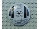 Part No: 44375apb03  Name: Dish 6 x 6 Inverted (Radar) - Hollow Studs with SW TIE Advanced Hatch Pattern
