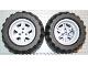 Part No: 44772c02  Name: Wheel 56mm D. x 34mm Technic Racing Medium, 3 Pin Holes with Black Tire 94.8 x 44 R Balloon (44772 / 54120)