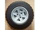 Part No: 44772c03  Name: Wheel 56mm D. x 34mm Technic Racing Medium, 3 Pin Holes with Black Tire 94.3 x 38 R (44772 / 92912)