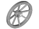 Part No: 4489b  Name: Wheel Wagon Large 33mm D., Hole Notched for Wheels Holder Pin