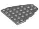 Part No: 50303  Name: Wedge, Plate 7 x 6 with Stud Notches (Boat Bow Plate)