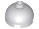 Part No: 553c  Name: Brick, Round 2 x 2 Dome Top - Hollow Stud with Bottom Axle Holder x Shape + Orientation