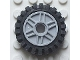 Part No: 56902c02  Name: Wheel 18mm D. x 8mm with Fake Bolts and Shallow Spokes with Black Tire 24mm D. x 8mm Offset Tread - Interior Ridges (56902 / 3483)