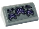 Part No: 85984pb271  Name: Slope 30 1 x 2 x 2/3 with Purple Control Panel Pattern (Sticker) - Set 76084