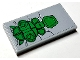 Part No: 87079pb0758  Name: Tile 2 x 4 with Green Seat on Light Bluish Gray Background Pattern (Sticker) - Set 76097