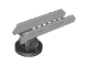 Part No: 93151c01  Name: Duplo Ladder Telescoping Lower Section on Black Turntable