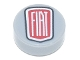Part No: 98138pb136  Name: Tile, Round 1 x 1 with FIAT Logo Pattern