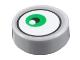 Part No: 98138pb140  Name: Tile, Round 1 x 1 with Green Eye Pattern