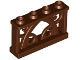 Part No: 19121  Name: Fence 1 x 4 x 2 Ornamental with 4 Studs