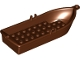 Part No: 21301  Name: Boat, 14 x 5 x 2 with Oarlocks without Hollow Inside Studs