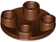 Part No: 2654  Name: Plate, Round 2 x 2 with Rounded Bottom (Boat Stud)