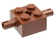 Part No: 30000  Name: Brick, Modified 2 x 2 with Pins and Axle Hole