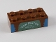 Part No: 3001pb081  Name: Brick 2 x 4 with 'TOW MATER' on Sand Green Background Pattern