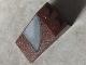 Part No: 30363pb025L  Name: Slope 18 4 x 2 with Gray Quarter Circle Window Pattern Model Left Side  (Sticker) - Set 7752