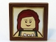 Part No: 3068bpb0181  Name: Tile 2 x 2 with Groove with Maiden Portrait Pattern (Sticker) - Set 10193