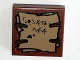 Part No: 3068bpb0625  Name: Tile 2 x 2 with Groove with Orcish Runes Pattern (Sticker) - Set 79010