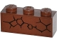 Part No: 3622pb046L  Name: Brick 1 x 3 with Cracks Type 1 Pattern Model Left Side (Sticker) - Set 70502