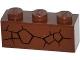 Part No: 3622pb046R  Name: Brick 1 x 3 with Cracks Type 2 Pattern Model Right Side (Sticker) - Set 70502