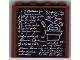 Part No: 4215bpb18  Name: Panel 1 x 4 x 3 - Hollow Studs with Classroom Blackboard Pattern (Sticker) - Set 5378