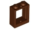 Part No: 60592  Name: Window 1 x 2 x 2 Flat Front