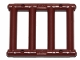 Part No: 62113  Name: Bar 1 x 4 x 3 Grille with End Protrusions