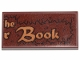 Part No: 87079pb0796  Name: Tile 2 x 4 with 'he', 'r Book' and Fur Pattern (Sticker) - Set 30628