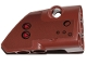 Part No: 87086pb042  Name: Technic, Panel Fairing # 2 Small Smooth Short, Side B with Black Circles and Red Triangles Pattern (Sticker) - Set 75532