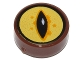Part No: 98138pb056  Name: Tile, Round 1 x 1 with Black Eye on Yellow Background Pattern