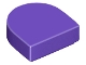 Part No: 24246  Name: Tile, Round 1 x 1 Half Circle Extended (Stadium)