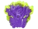 Part No: 25531pb02  Name: Bionicle Mask of Corruption with Marbled Trans-Neon Green Pattern