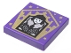 Part No: 3068bpb1738  Name: Tile 2 x 2 with Groove with Chocolate Frog Card Olympe Maxime Pattern