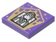 Part No: 3068bpb1741  Name: Tile 2 x 2 with Groove with Chocolate Frog Card Jocunda Sykes Pattern
