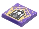 Part No: 3068bpb1744  Name: Tile 2 x 2 with Groove with Chocolate Frog Card Severus Snape Pattern
