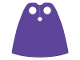 Part No: 522  Name: Minifigure Cape Cloth, Standard - Traditional Starched Fabric - Height 4 cm (22231)