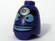 Part No: 61286pb02  Name: Minifigure, Head Modified SpongeBob Doctor
