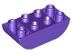 Lot ID: 247131865  Part No: 98224  Name: Duplo, Brick 2 x 4 Curved Bottom