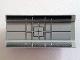Part No: 2440pb016  Name: Hinge Panel 6 x 3 with Black Radar Pattern (Sticker) - Set 10019