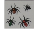 Part No: 3068bpb0005  Name: Tile 2 x 2 with Groove with 4 Spiders Pattern